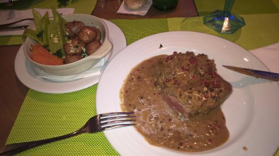 Funcho Gourmet : Filet in Pfeffersauce