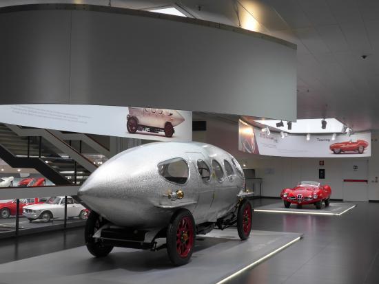 alfa romeo museum (museo storico alfa romeo) - Изображение museo