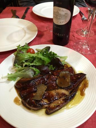 Au Petit Sud Ouest : Duck Foie gras salad