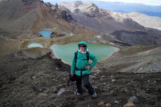 Devonport, Новая Зеландия: Joy on the Tongariro Alpine Crossing