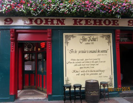 John Kehoe's: View from outside
