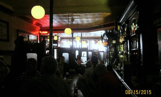 John Kehoe's: The old bar, the Heritage Bar, they call it