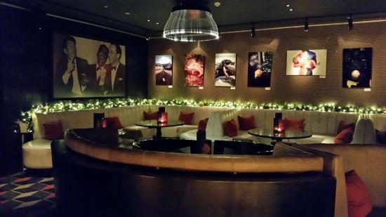 Salvatore's Bar at Playboy Club London : Salvatore's Bar at Christmas Time