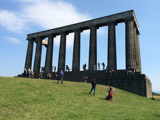 Calton Hill: National monument