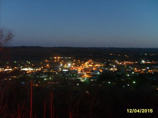 Burkesville after dark