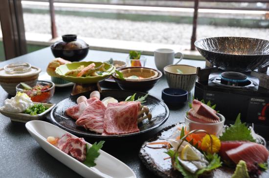 Yunomineso: 満足プランご夕食(superior dinner)