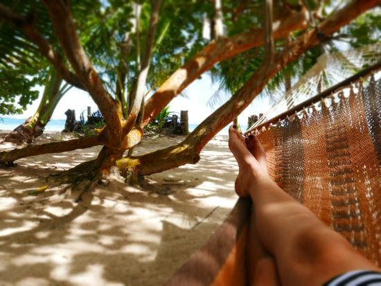 Little Corn Beach and Bungalow: Hammock heaven