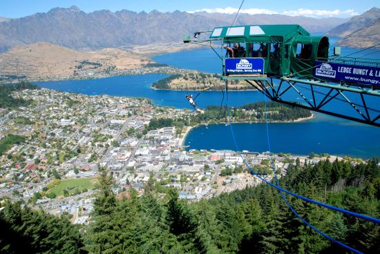 Queenstown, Neuseeland: You go Girl!