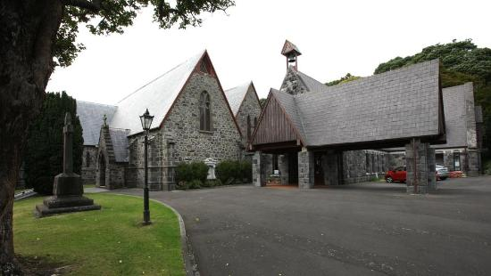 Taranaki Cathedral, Church of St Mary: Taranaki Cathedral