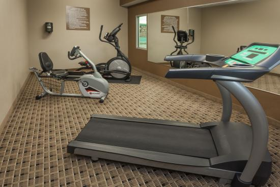 Microtel Inn & Suites by Wyndham Michigan City : Fitness room