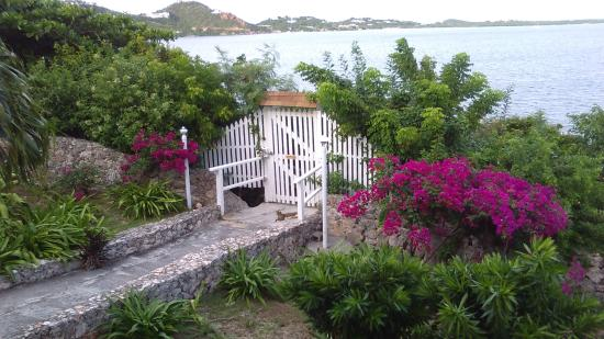 Cupecoy Bay, St-Martin/St Maarten : View from 4A