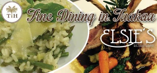 Tuakau, Nouvelle-Zélande : Elsie's Restaurant