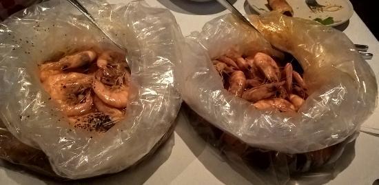 San Mateo, CA: Cajun spicy shrimps