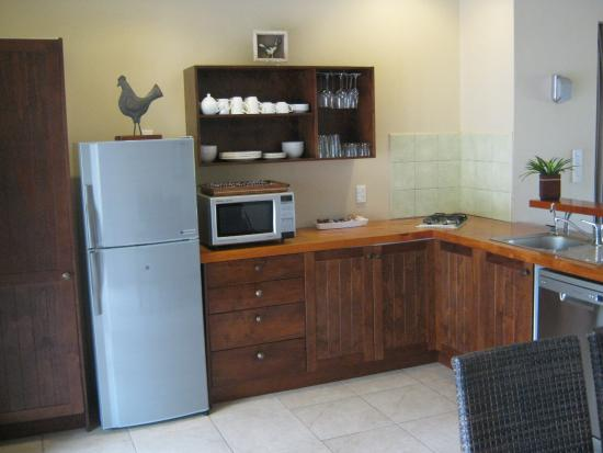 Sea Change Villas: Fully stocked kitchen.