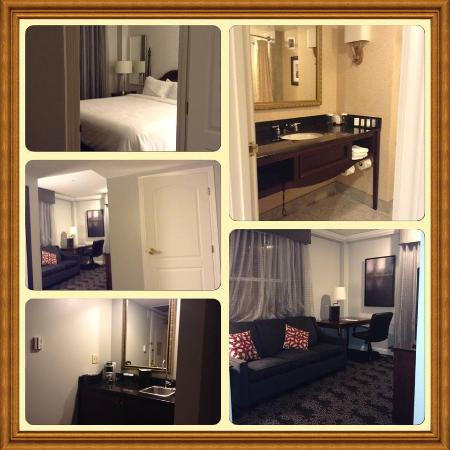 the suite picture of embassy suites by hilton portland. Black Bedroom Furniture Sets. Home Design Ideas