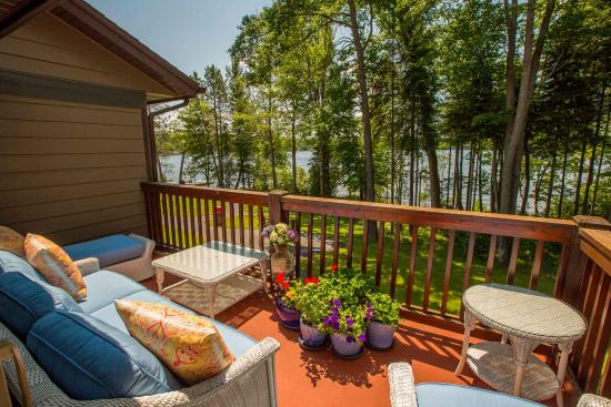 Eagle River, WI: Guest Balcony View