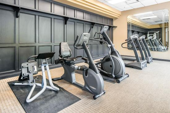 Quality Suites Downtown: Fitness center