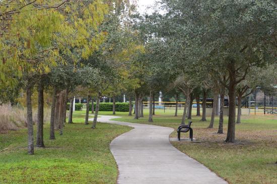 Casselberry, Floryda: peaceful stroll
