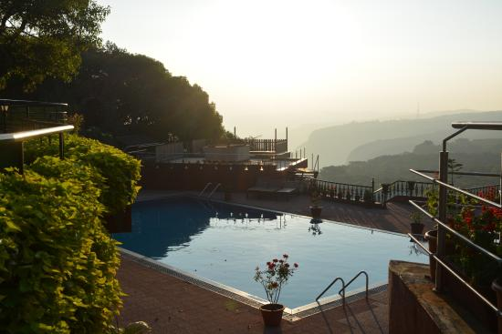 Swimming pool view picture of ramsukh resorts spa Hotels in mahabaleshwar with swimming pool