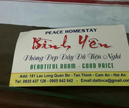 Peace Home Stay
