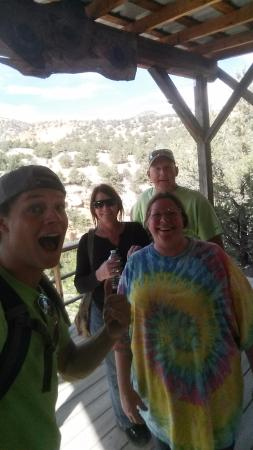 Super 8 Salida: zip lining at Captain Zip Line