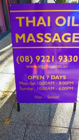 ing phu aroma thai massage therapy perth 2019 all you. Black Bedroom Furniture Sets. Home Design Ideas