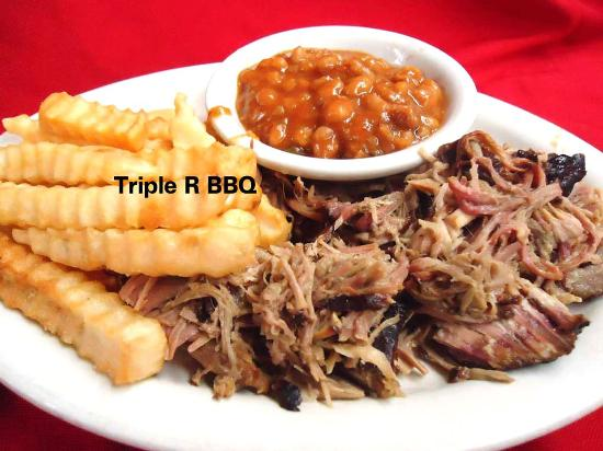 Scottsboro, AL: Triple R BBQ dinner