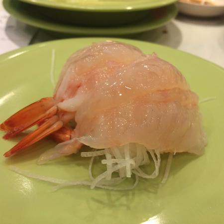 Itacho Sushi (Tai Po Mega Mall): Sweet Prawn Ebi Sashimi