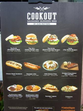 Cookout Fast Food Prices