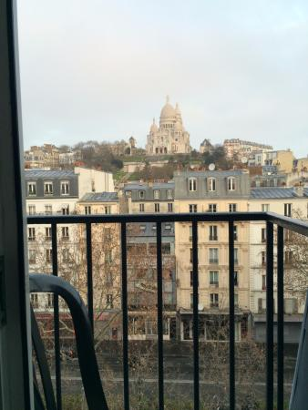 Avenir Hotel: view from the room