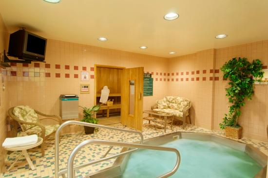 Marriott Conference Center at the National Center for Employee Development: Sauna/Whirlpool