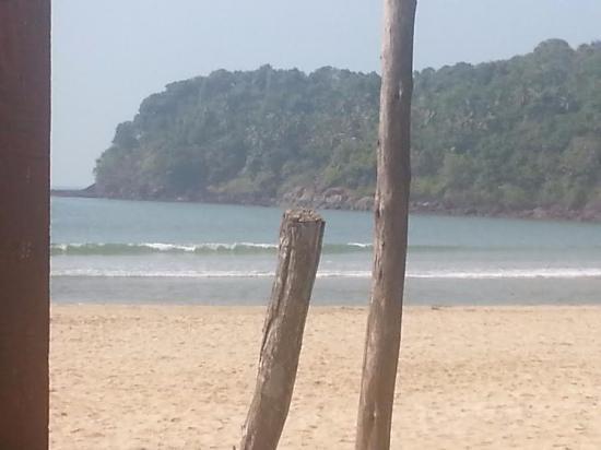 Agonda Beach: Beachfront