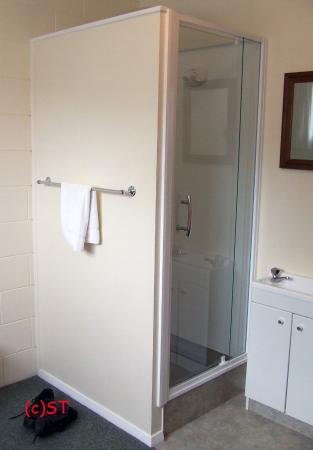 Picton House B & B: ensuite shower