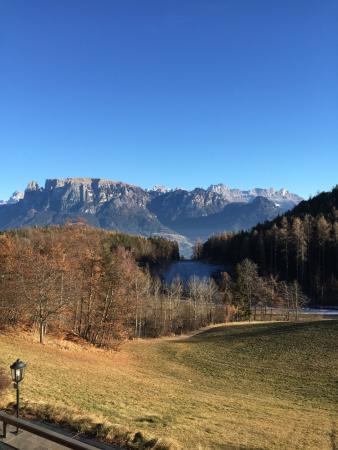 Renon, Italië: Wundervolles Bergpanorama