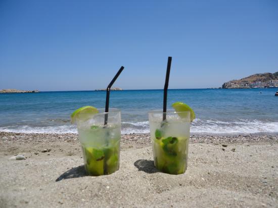 Alimounda Mare: Hotel´s beach