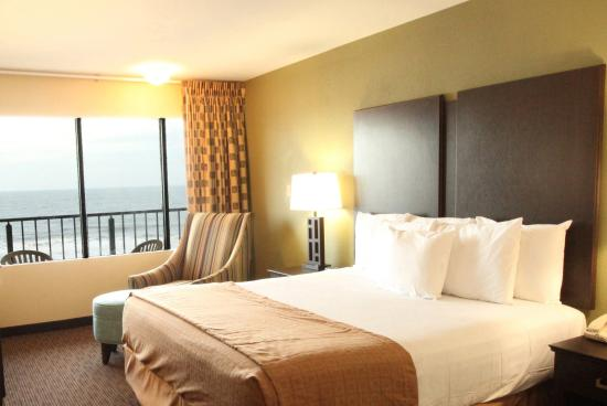 Surfside Oceanfront Inn & Suites : King