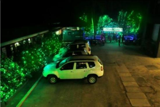 Changanacherry, India: Parking Area
