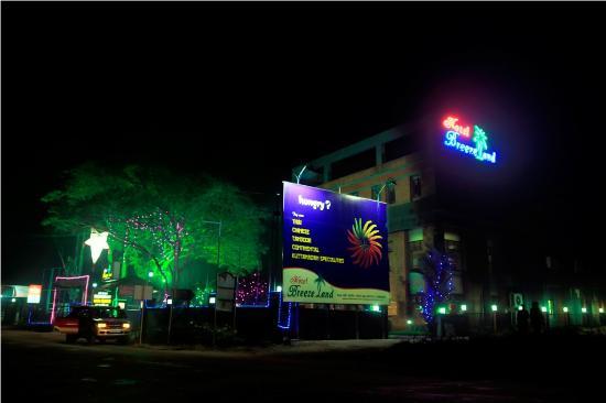Changanacherry, India: Hotel on Road View
