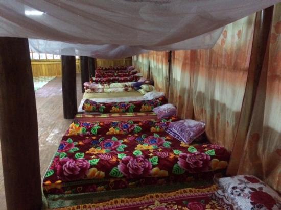 Lao Cai, Vietnam: phòng ngủ tập thể