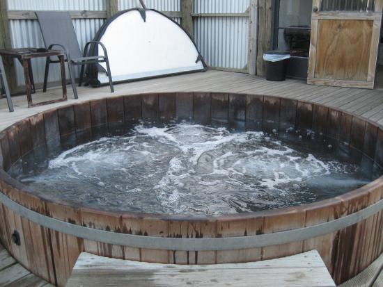 Waitapu Springs B&B : Wonderful warm hot tub
