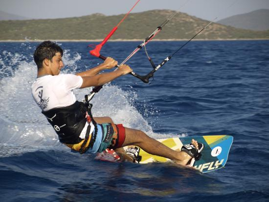 Bitez, Turchia: another windy day at KiteboardBodrum