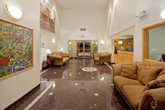 โคลัมบัส, เท็กซัส: Hotel Lobby