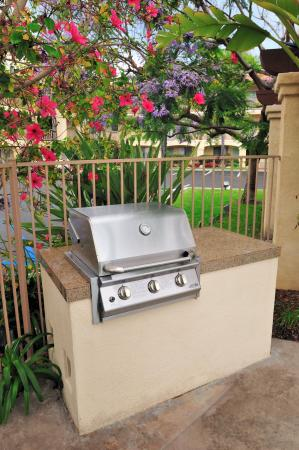 Old Town Inn: Our Poolside BBQ Grill