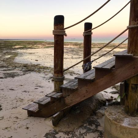 Jetty Stairs at low tide