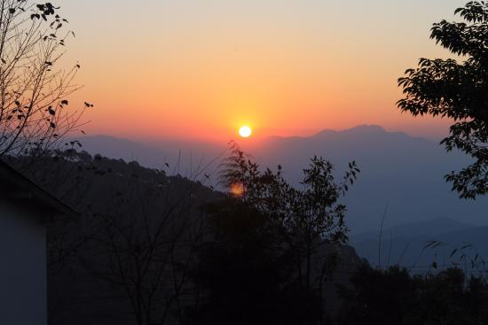 Chaukori, Índia: Sunrise