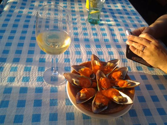 Banaderos, Espagne : Свежие мидии
