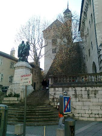 Chambéry, France : Other side of the castle