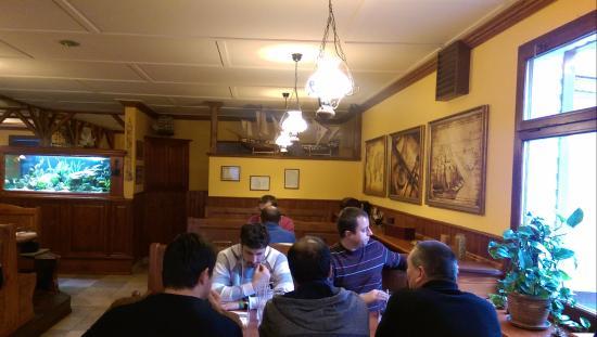Povazska Bystrica, Eslovaquia: Interior of the restaurant Sailor