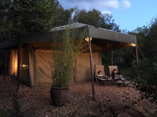 Enkerende Tented Camp: Tienda doble