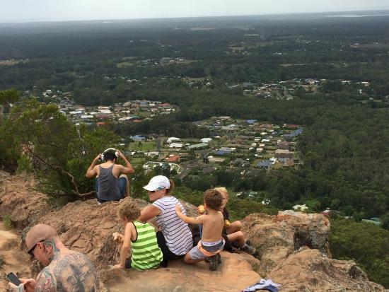 Glass House Mountains, Australien: View from the top